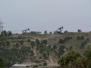 Ölfeld vor den Toren von Baku